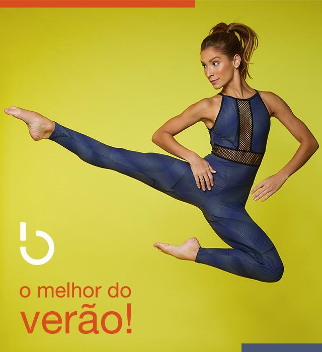 Legging Radical e Top Blu - Verão Esquenta!